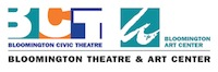 Bloomington theatre and art center logo